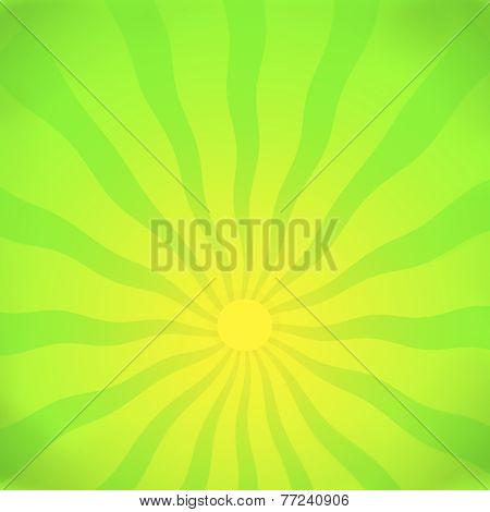 Light wave green