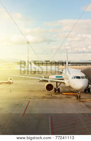 plane at airport
