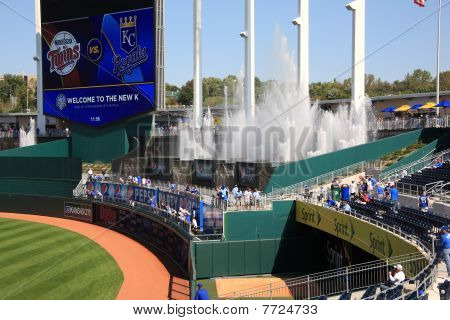 Kauffman Stadium Scoreboard - Kansas City Royals