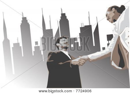 The Business Deal Is Sealed