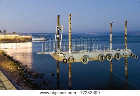 Pier In Tiberias