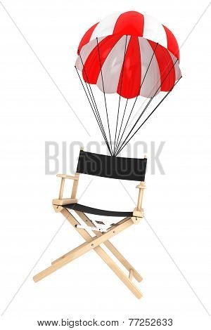 Parachute With Director's Chair