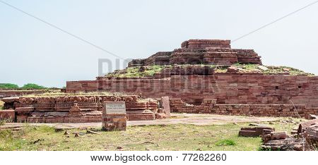 Ruins Of Temples Of Ancient City Of Mandor