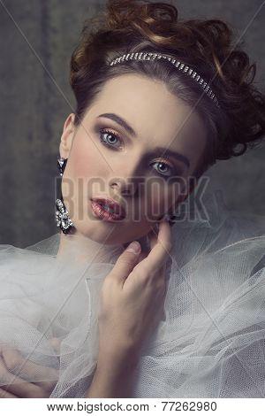 Aristocratic Retro Woman