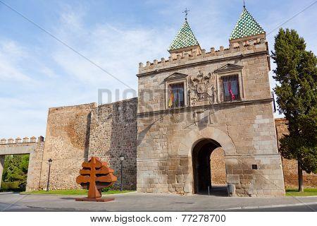 Puerta de Bisagra the main entrance onto the territory of Toledo