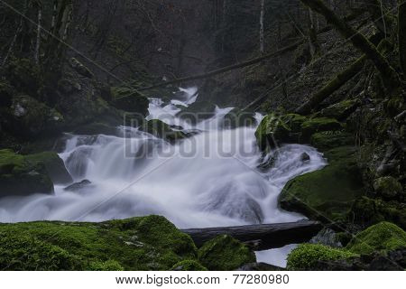 Big water cascades