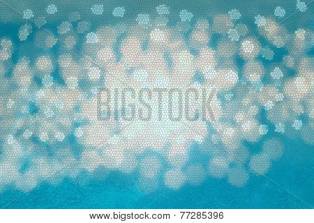 Abstract Blue And Light Colored Background