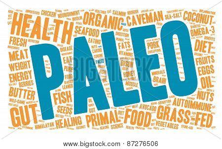 Paleo Word Cloud