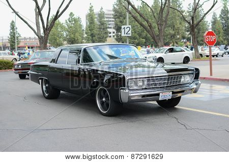 Chrysler Imperial  Classic Car On Display