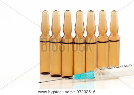 Medical Vials For Injection Drug