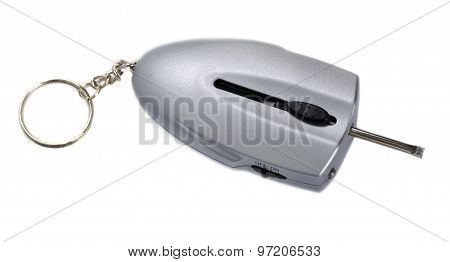 Keychain with the function of defrosting locks