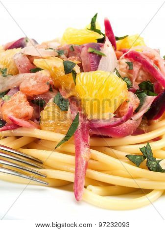Pasta Collection - Linguini With Shrimps