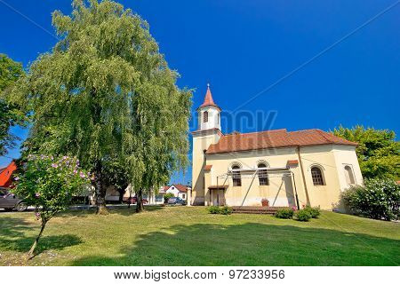 Town Of Krizevci Saint Marko Church