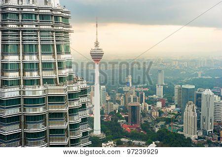 Skyline Of Kuala Lumpur. Malaysia