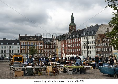 Flea Market In Copenhagen