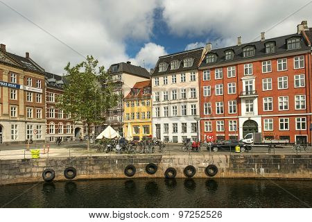 Waterfront Of The Old Town, Copenhagen