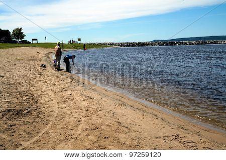 The Beach at Harbor Refuge Park
