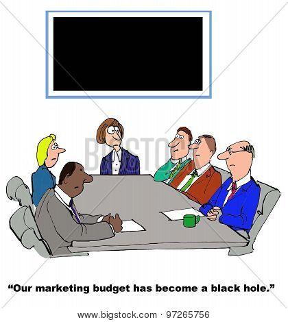 Budget is a Black Hole