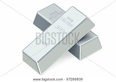 Two Silver Bullions