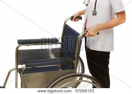 Doctor With Wheelchair