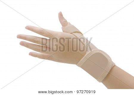 Wrist With Brace ,wrist Support For Carpal Tunnel Syndrome