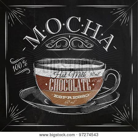 Poster Mocha Chalk