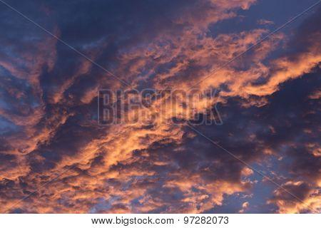 Dramatic Morning Sunrise Clouds 2