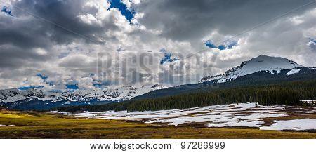 Colorado Rocky Mountains Landscape