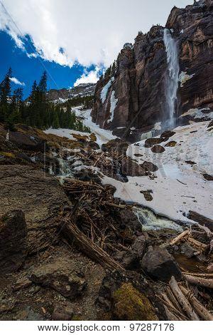 Bridal Veil Falls Telluride Colorado