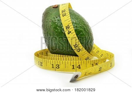 Avocado And Measure Tape