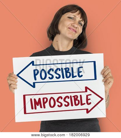 Woman possible and impossible board