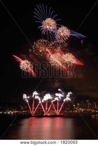 Cosmos Fireworks