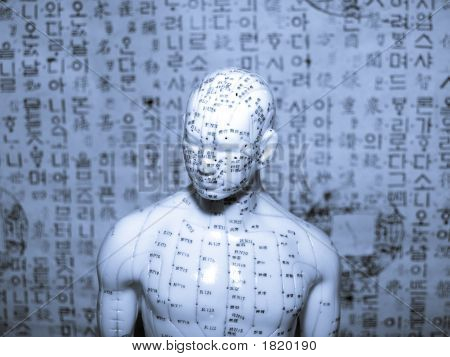 Acupuncture Concept