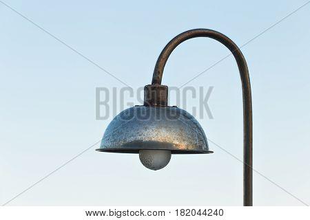 Street old lamp. an image of street light