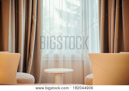 Two Armchairs And Window