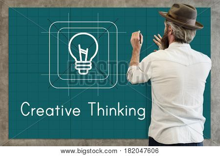 Bulb Ideas Creative Icon Sign Word