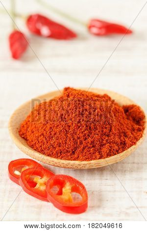Fresh and dry chilli pepper, close up