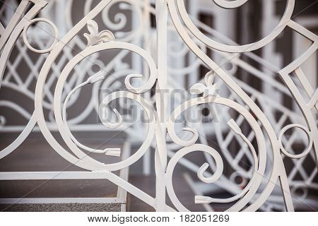 Details Of Decorative Stairs