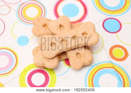 some homemade cookies for dogs with tuna fish