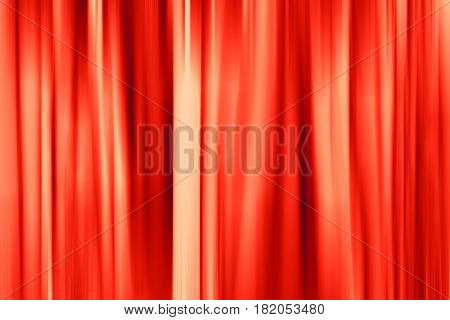 Background, red fabric curtain. Abstraction color backdrop