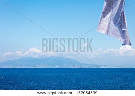 Neapolitan Landscape With Clothes