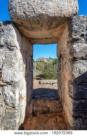 Stone Arch In Ek Balam