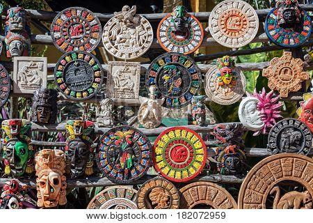 Souvenirs In Ek Balam