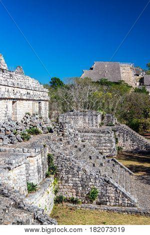 Temples In Ek Balam