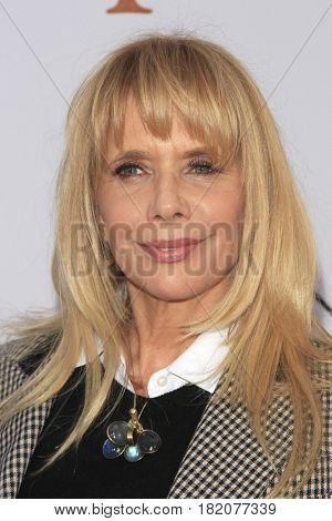 LOS ANGELES - APR 12:  Rosanna Arquette at the