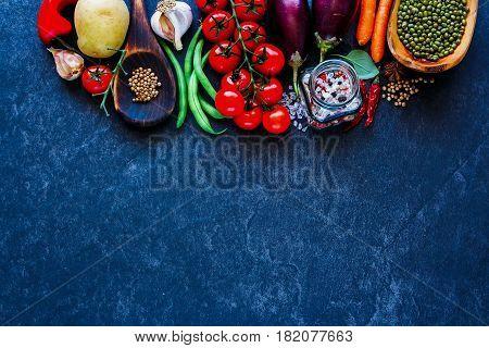 Fresh Unprocessed Vegetables