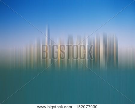 Abstract background from the blurred Manhattan skyline.