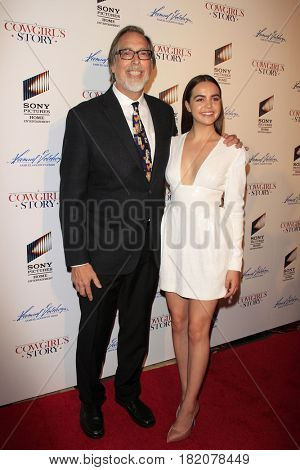 LOS ANGELES - APR 13:  Timothy Armstrong, Bailee Madison at the