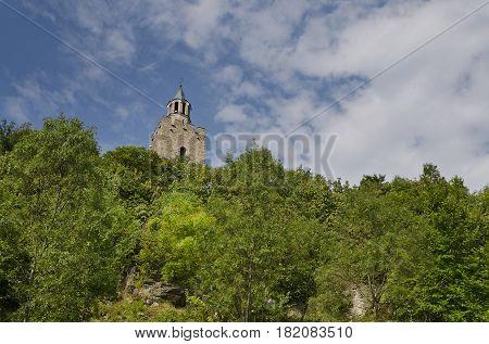 The Tsarevets in Veliko Tarnovo in Bulgaria