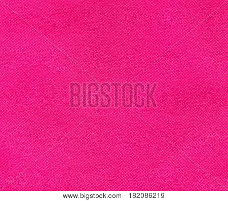 Pink Nonwoven Polypropylene Fabric Texture Background